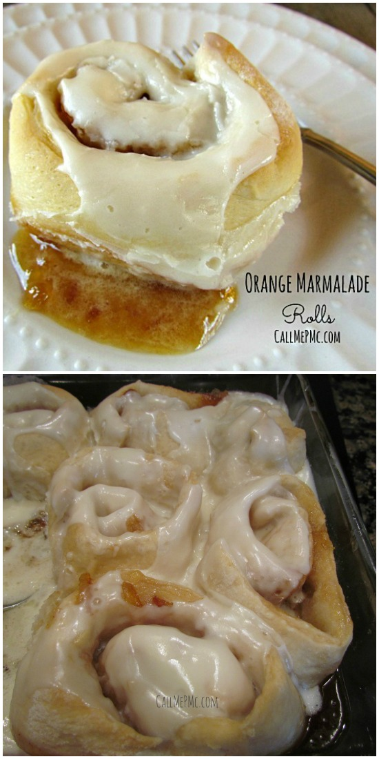 Orange Marmalade Rolls recipe