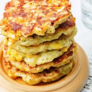 SUN-DRIED TOMATO AND CORN TAMALE CAKES