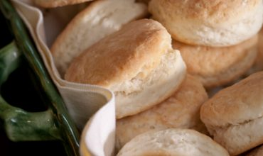 Easy Buttermilk Biscuits from Scratch (Food Processor)