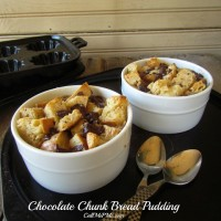 Chocolate Chunk Bread Pudding / Call Me PMc