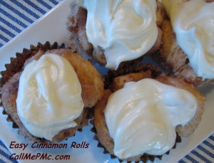 Cinnamon Roll Cupcakes recipe