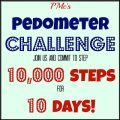 Pedometer Challenge 10,000 Steps for 10 Days! / Call Me PMc
