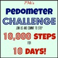 PMc's Pedometer Challenge – 10,000 Steps for 10 Days / Call Me PMc