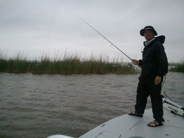 Gulf Fishing Trip -Woodland Punch
