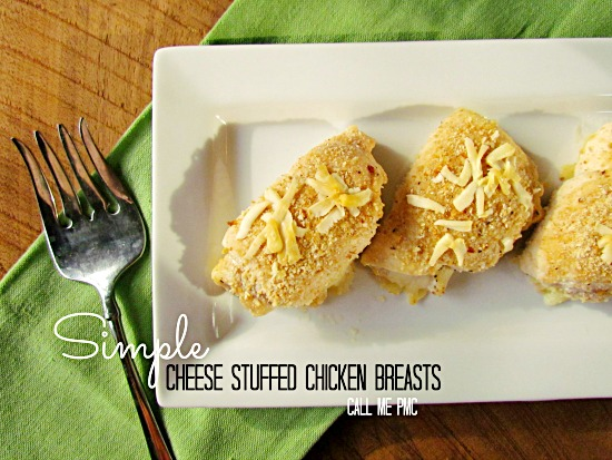 Cheese Stuffed Chicken Breast