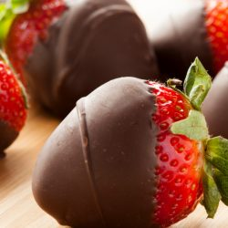Make your own Chocolate Covered Strawberries. It's simple and quick with this recipe. They are an easy treat or an edible gift.