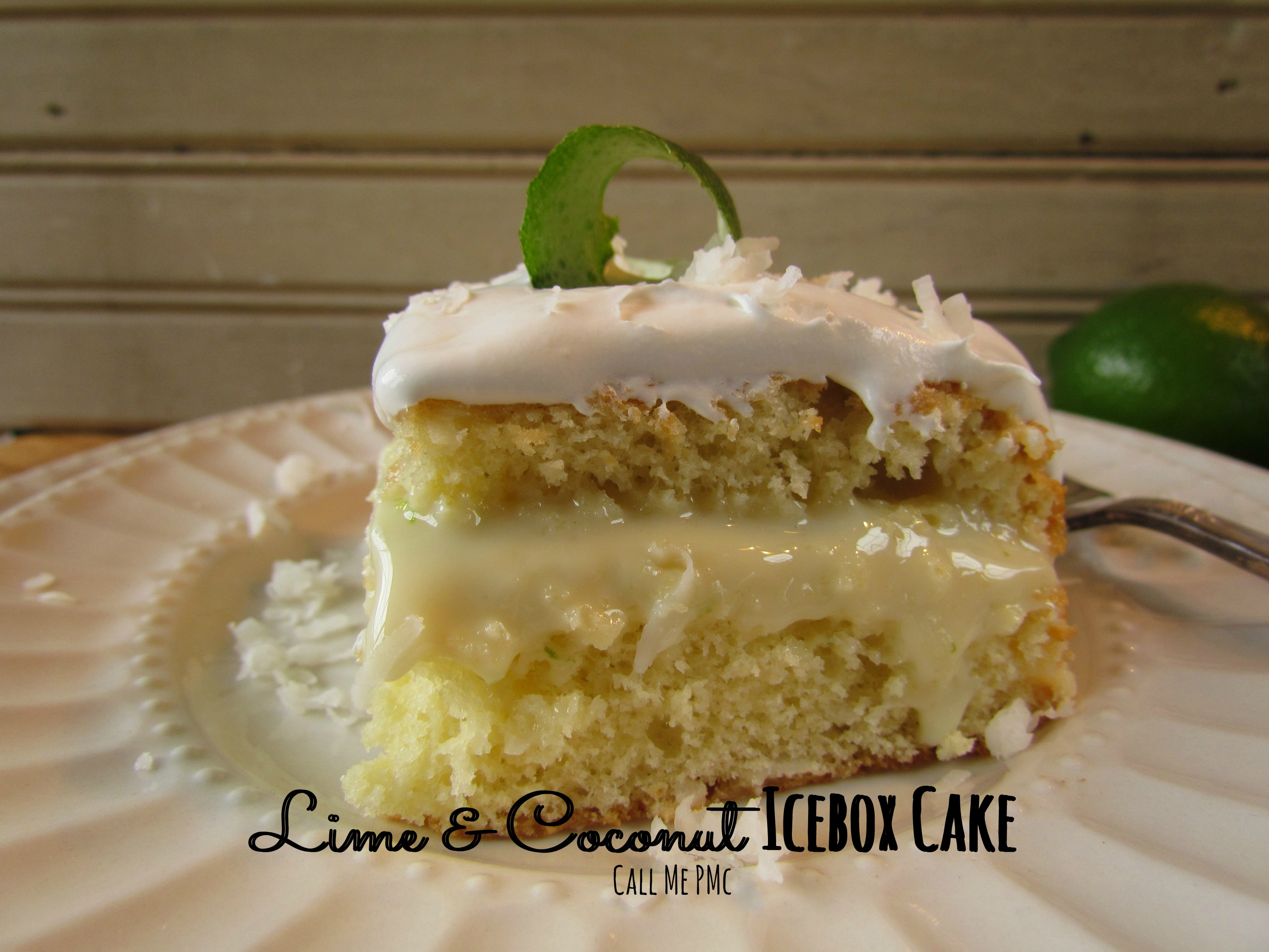 Lime & Coconut Icebox Cake with Fresh Whipped Cream » Call Me PMc