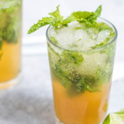 Orange Mojito is a refreshing cocktail inspired by the classic rum and mint drink This version adds orange juice. #cocktail #drink #alcohol #rum #orangejuice
