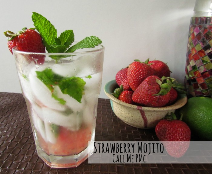 Strawberry Mojito - cool, refreshing, slightly sweet perfect for Summer