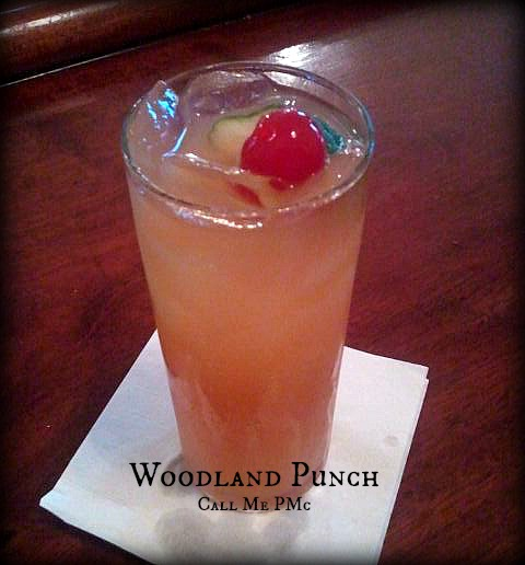 Woodland Punch #cocktails #recipe Single drink or for a crowd