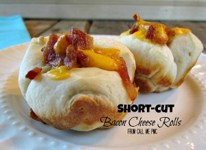 Bacon Cheese Rolls