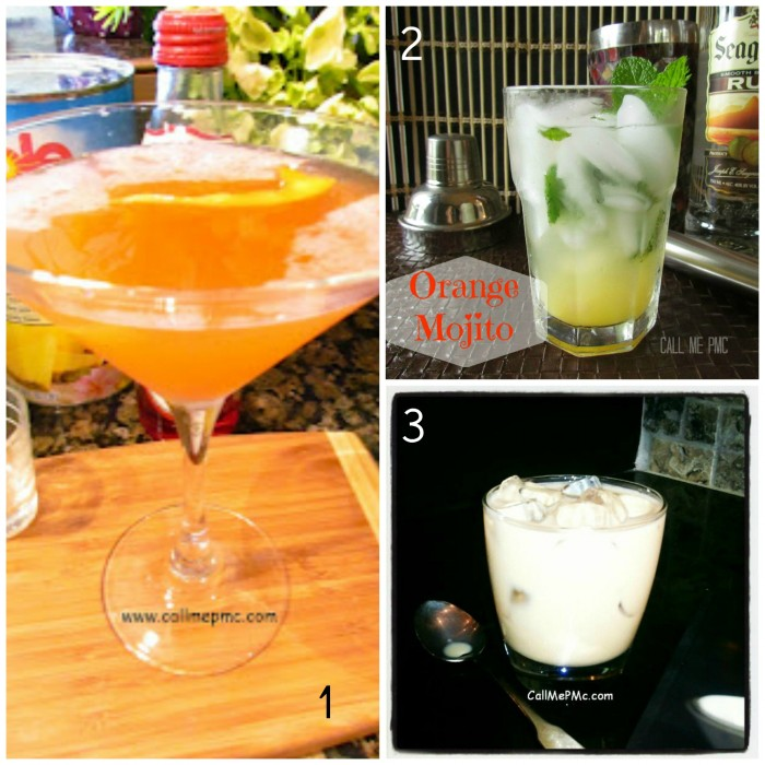 Summer cocktails to kick off your holiday! #cocktails #callmepmc