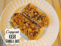 Copycat Kashi Energy Granola Bars