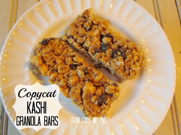 Copycat Kashi Energy Granola Bars #granola #energybars #healthy #snacks #callmepmc