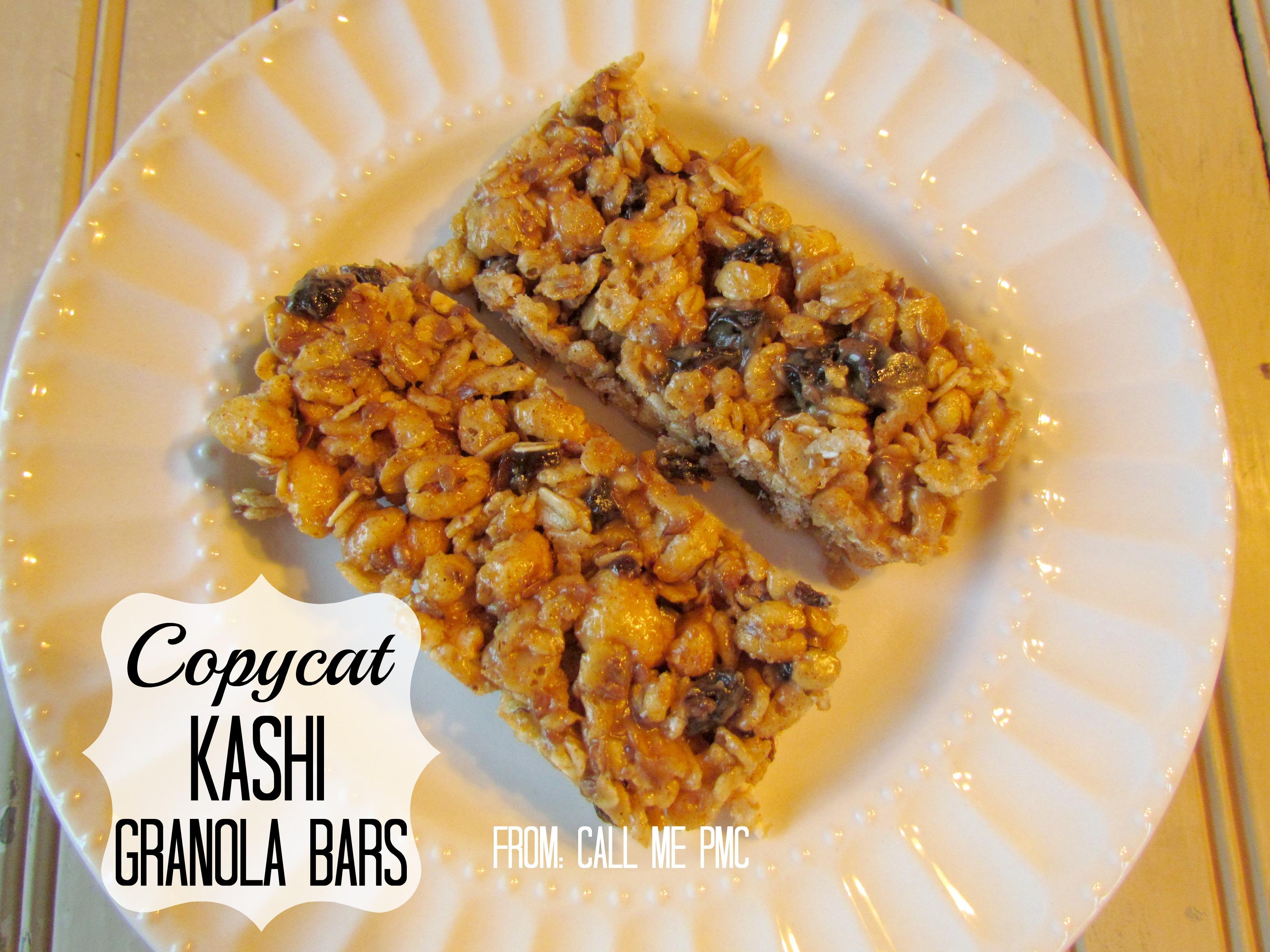 Copycat Kashi Granola Bar Recipe
