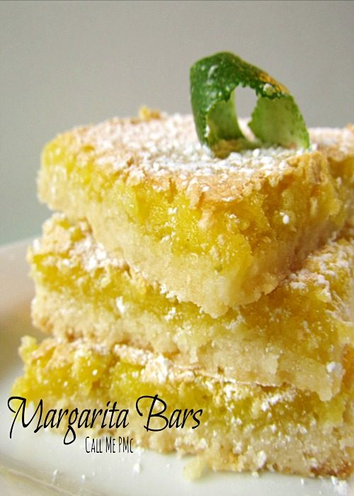 Margarita Bars - sweet tart lime bars from @pmctunejones