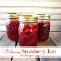 Balsamic Strawberry Jam / Call Me PMc