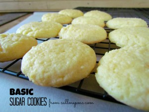 rom Scratch Easy Sugar Cookies