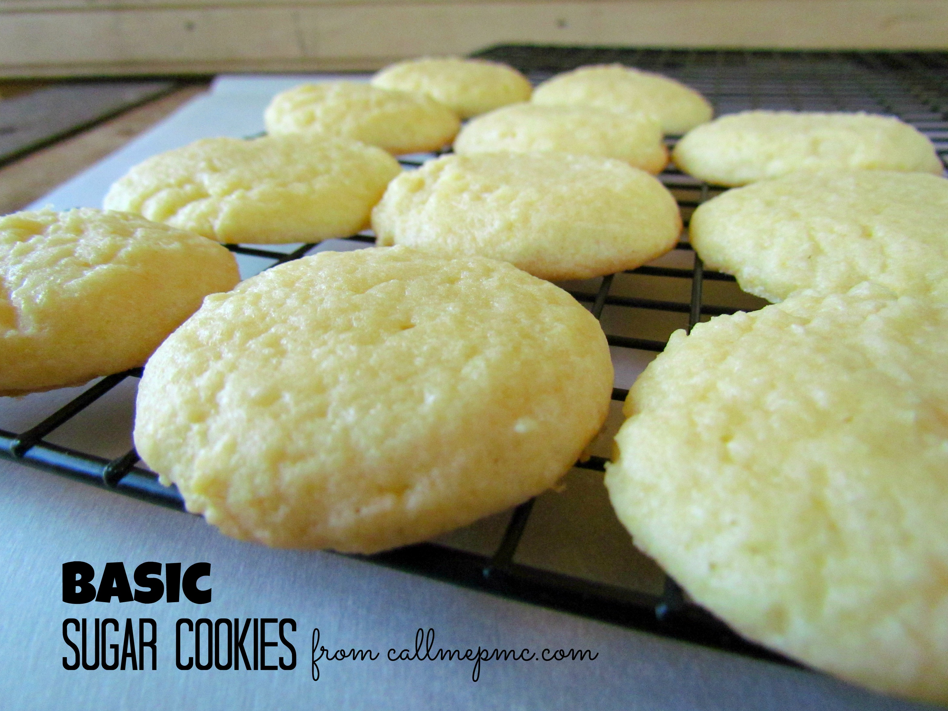 Scratch-made Easy Sugar Cookies / Call Me PMc » Call Me PMc