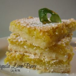 Tequila Lime Bars