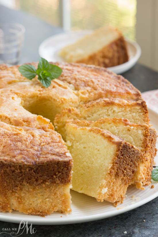 Amaretto Pound Cake is pound cake flavored with an almondliqueur. Made from scratch, it's rich, buttery, moist, and completely, insanely delicious!