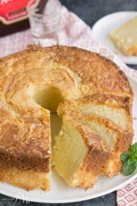 Amaretto Pound Cake From Scratch