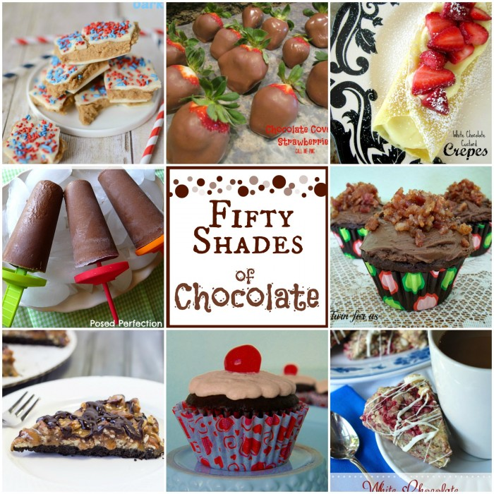 Fifty Shades of Chocolate from www.callmepmc.com Fifty amazing Chocolate Recipes from around the web!