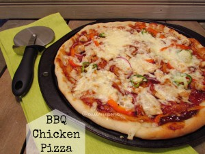 bbq-chicken-pizza #pizza #bbq #chicken