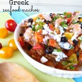 Greek Seafood Nachos