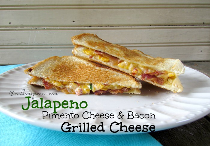 Jalapeno Pimento Cheese is spicy and full of flavor! An easy pimento cheese recipe, this Jalapeno Pimento Cheese is very versatile. Serve it as a spread on a sandwich