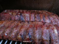 MS Pecan Wood Smoked ribs