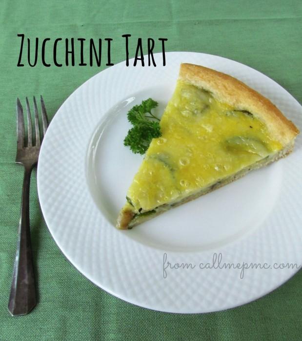 zucchini tart from callmepmc.com #callmepmc #tart #vegetables