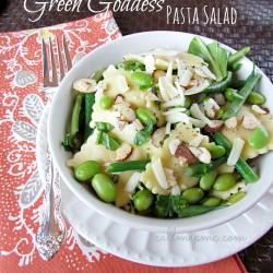 Green Goddess Pasta Salad #callmepmc www.callmepmc.com
