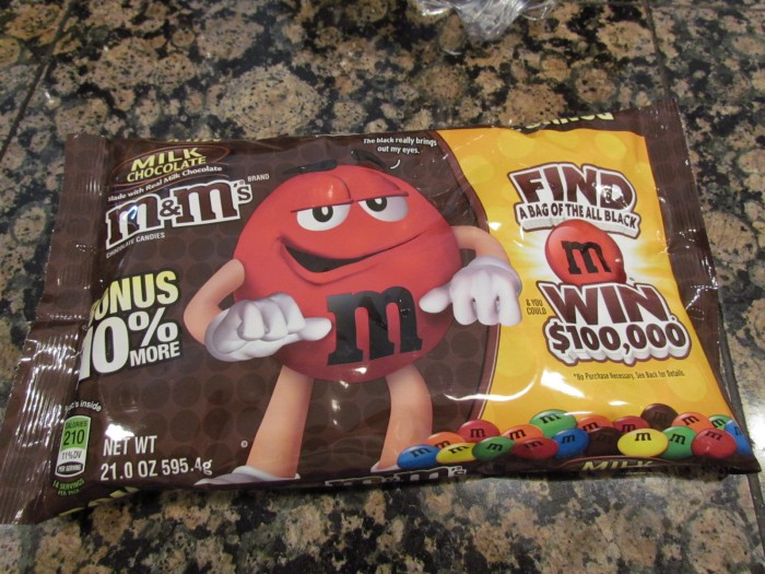 M&M Giant Cookie and All You Magazine #callmepmc