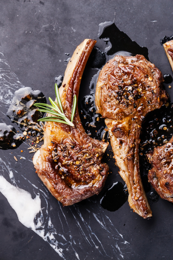 Grilled Lamb Lollipops are so easy to make and taste wonderful. They the perfect recipe for entertaining and the holidays!