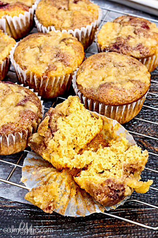 Peanut Butter and Jelly Muffins is the breakfast equivalent of your favorite lunch! This kid friendly and adult approved recipe is great for on-the-go breakfast, lunch treats, and after-school snacks.