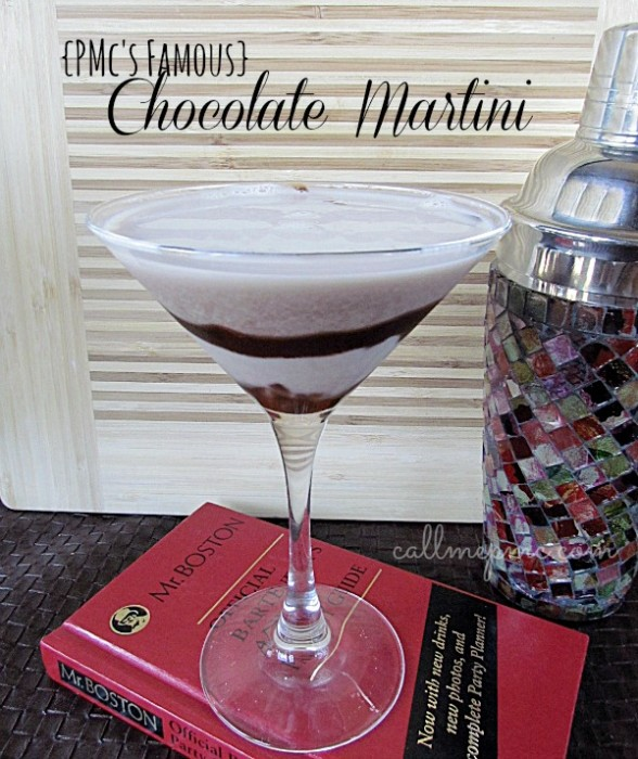 PMc's Famous Chocolate Martini #callmepmc