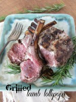 Grilled Lamb Lollipops from www.callmepmc.com