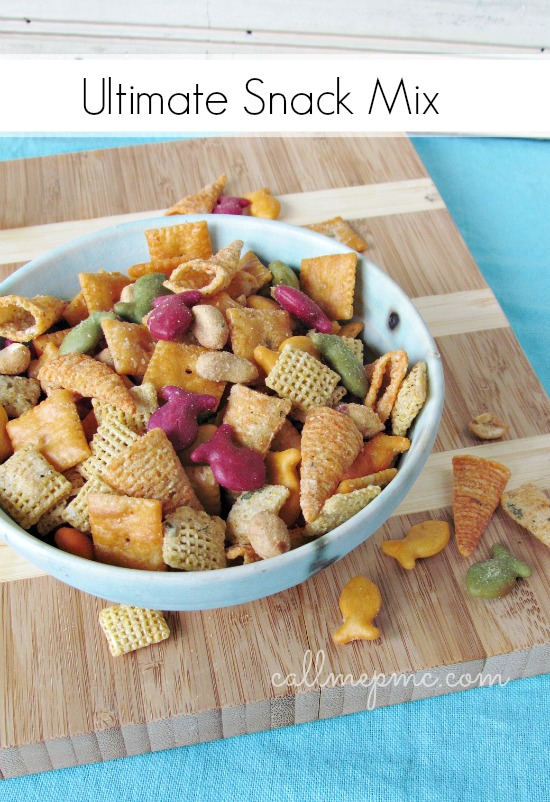 Ultimate Snack Mix recipe is highly adaptable and irresistible! A special oil and spices make this party mix the best around. It's perfect for snacking any time of day! Let's be real, you won't be able to stop eating this Ultimate Snack Mix!