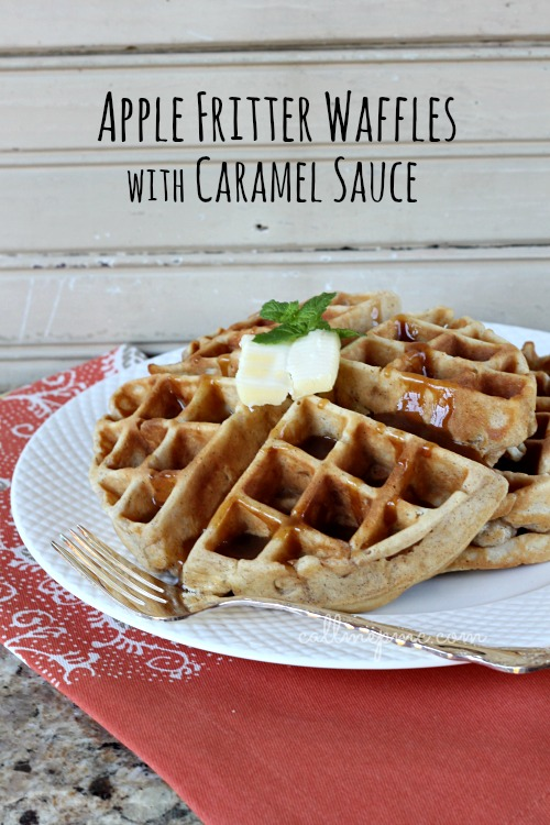 Classic Waffles With Salted Caramel Sauce Recipes — Dishmaps