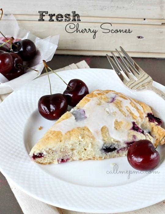 Fresh-Cherry-Scones #callmepmc