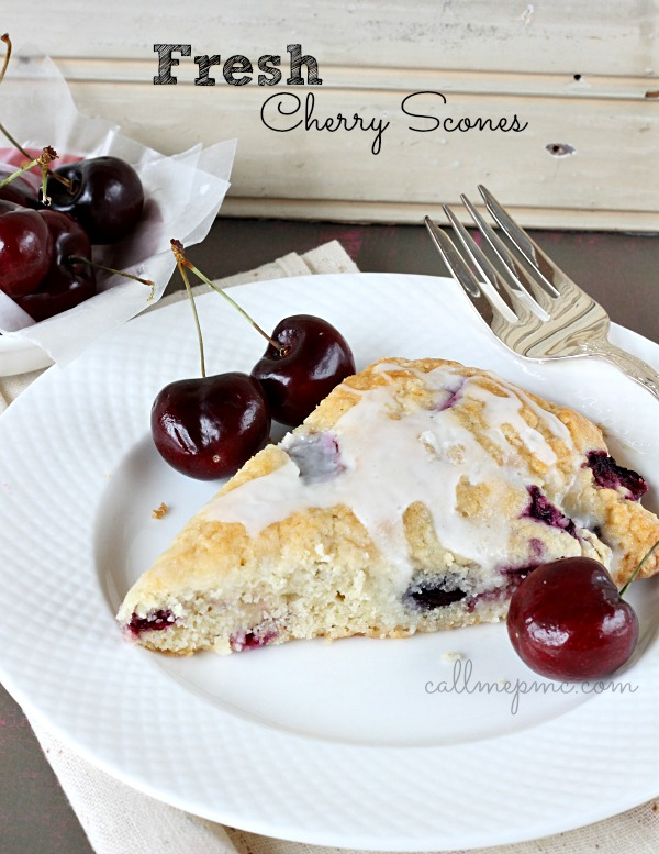 Fresh-Cherry-Scones #callmepmc
