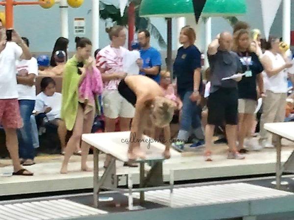 Lincoln's first swim meet