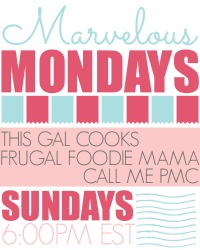 Marvelous Mondays Link Party with Features