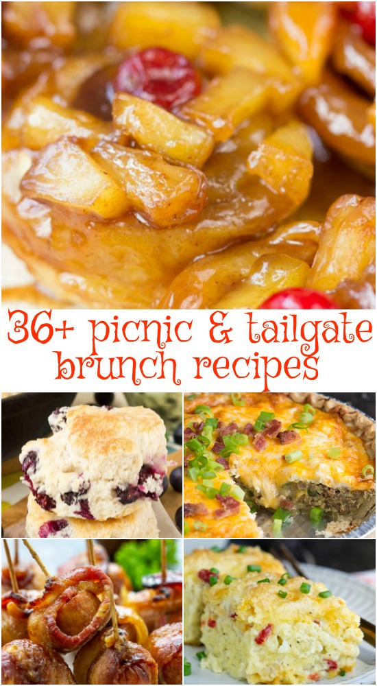 36+ Tailgating Recipes Brunch is a collection of game day party food that everyone will rave about!