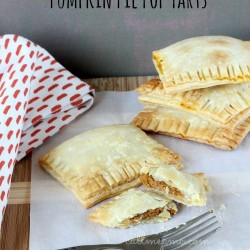 Pumpkin Pie Pop Tarts #callmep