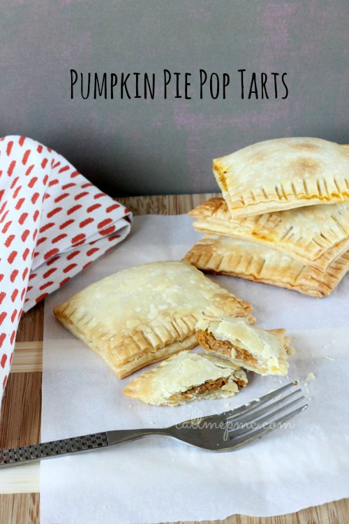 Pumpkin Pie Pop Tarts #callmepmc