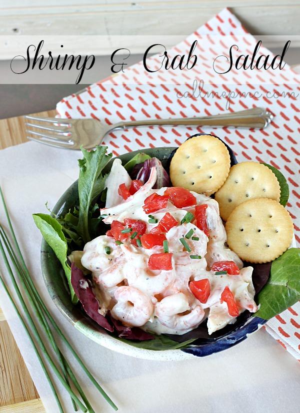 Shrimp-and-Crab-Salad #callmepmc