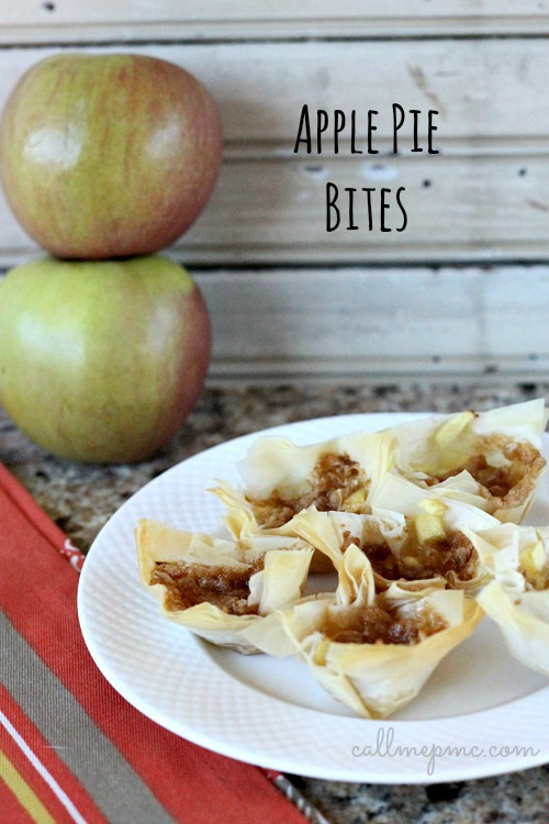 Apple Pie Bites #callmepmc