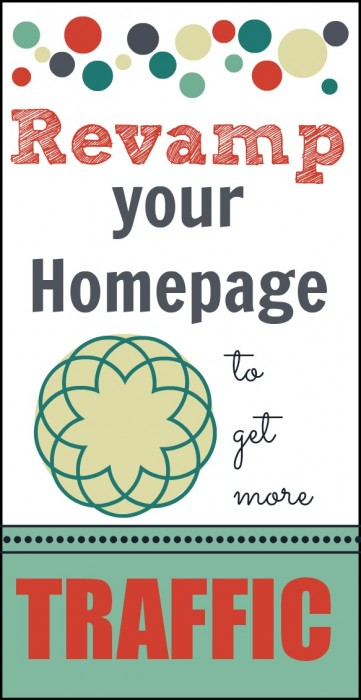 Revamp your Homepage to Gain More Traffic #callmepmc